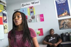 Watts poetry student